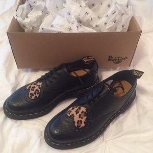 34bc83cab7c4 Dr. Martens Shoes   Dr Martens Joyce Heart Shoe Black Leopard   Poshmark